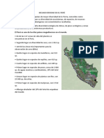 Megadiversidad en El Perú