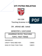 Grammar Micro Teaching