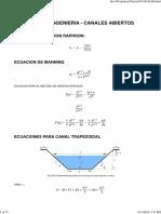 CLASE 1 - HIDRAULICA DE CANALES - iPython