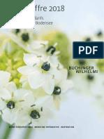 Buchinger Wilhelmi Bodensee Prestations Et Tarifs 2018