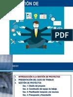 Presentacion2 Gestion de Proyectos