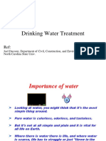 Ch3b Drinking Water Treatment