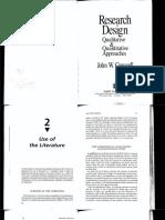 5.- Creswell, John. Cap. 2. Use of the literature..pdf