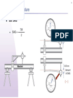 Dail Indicator Shaft Alignment (Sag)