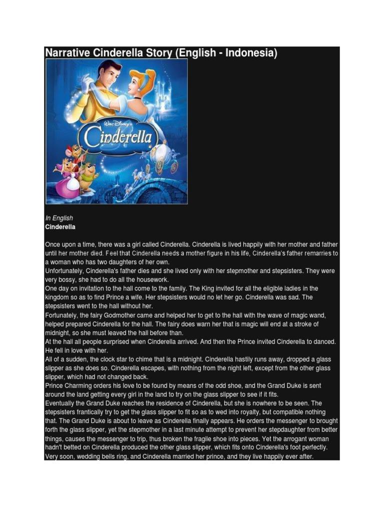 Narrative Cinderella Story  Cinderella  Pinocchio