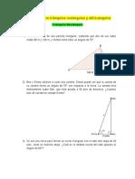 Ejercicios sobre triángulos rectángulos y oblicuángulos (2)-Tarea II.docx