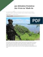 Situação Das Bases Na Amazônia