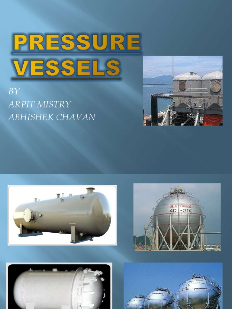 Pressure vessels   Materials   Chemistry