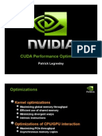 CUDA Performance Optimization