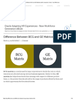 Difference Between BCG and GE Matrices (With Comparison Chart) - Key Differences