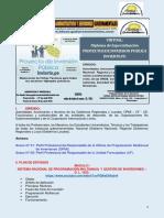 Sistema Nacional de Programación Multianual y Gestión de Inversiones - InVIERTE PERU Abril 2018
