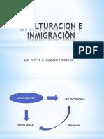 Aculturación e Inmigración
