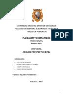 Analisis Prospectivo BITEL
