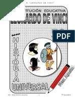 4. Agosto - Setiembre - Historia Universal - 5to