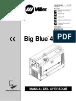 Manual Big Blue 400 Cx