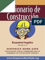 Diccionario de Construccion ESPAÑOL INGLES