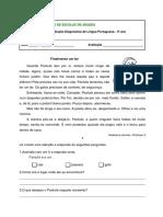 Ficha Diagnóstica L. Portuguesa 3º Ano.pdf