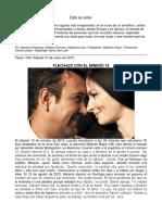 Esto Es Amor Revista Paula