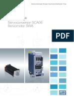WEG Servoconversor Sca06 50022905 Catalogo Portugues Br