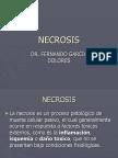 Necrosis.