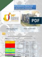 Consultoría Técnica Sobre Mantenimiento Predictivo Multiparamétrico en Grupos Electrógenos