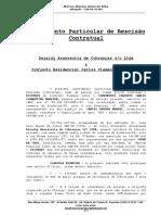 Rescisão de Contrato Carlos Clementino Moreira
