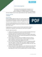 Ejercicio Práctico Carta de Autocompasión