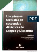 Consignas y Género Textual Riestra