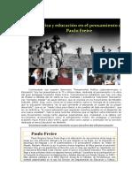 Política y Ed en El Pensam de Paulo Freire