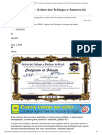 Junte-se a OTPB - Ordem Dos Teólogos e Pastores Do Brasil - Portal Da Teologia _ Portal Da Teologia