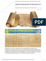 70 Anos Da Revelação Dos Manuscritos Do Mar Morto Ao Mundo - Portal Da Teologia _ Portal Da Teologia