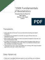 HNSC 7150X Fundamentals of Biostatistics Revisedppt