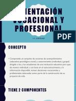 3. Orientacion Vocacional y Profesional
