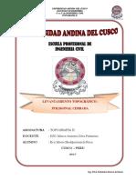 Informe Sobre Levantamiento Topografico Con Poligonal de Apoyo. (1)