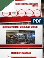 BISNIS PLAN (Usaha Riil (Bengkel Variasi Mobil Dan Motor)