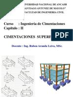 Cap. II - Cimentaciones Superficiales