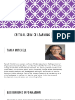 spa 563- critical service learning a d