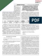 Aprueban propuestas de planeamiento integral y asignación de zonificación para predios ubicados en el distrito de Chilca