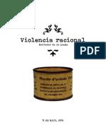 Proceso creativo del poema Violencia Racional