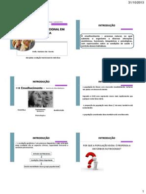 Clasificacion desnutricion perdida de peso geriatrial