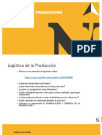 Logistica de Producción