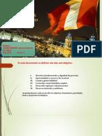 Plan Bicentenario y Sus 6 Ejes.