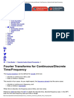 Fourier Transforms for Continuous_Discr...Ncy _ Spectral Audio Signal Processing