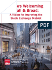 Stock Exchange District Report