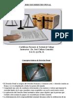 Presentation 1 Derecho Penal