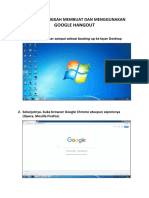 Tugas Tutorial Daftar Google Hangout