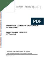 Covenin 3175-2005-Equipos-de-Izamiento-Calificacion-de-Personal.pdf