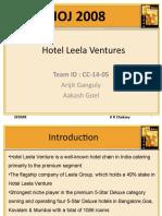 CC-14-05 Hotel Leela Ventures