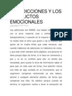 Las Adicciones y Los Conflictos Emocionales