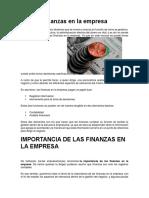 Administración Financiera en La Empresa